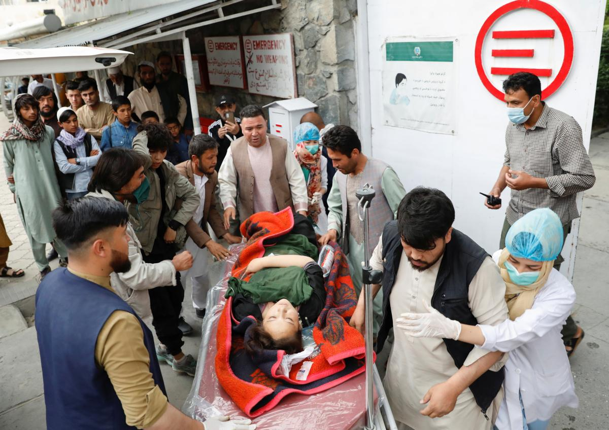 Никто пока не взял на себя ответственность за этот взрыв \ фото REUTERS
