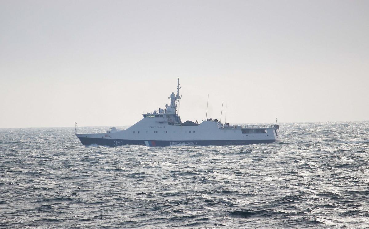 Российские катера вмешались в украинско-американские береговые учения / ГПСУ