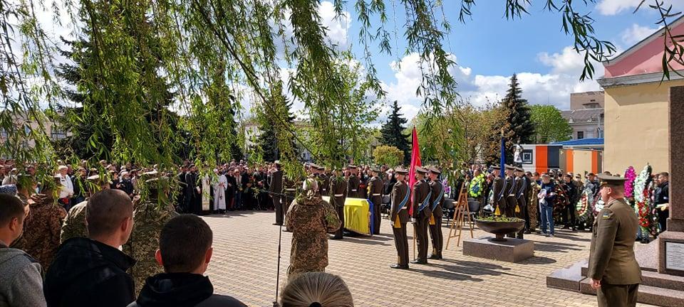 Похороны погибшего украинского военного / УНИАН