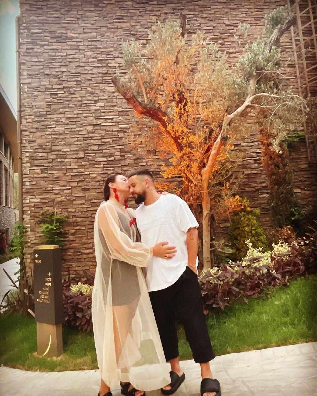 Ірина Монатік поділилася фото з чоловіком / instagram.com/irinamonatik