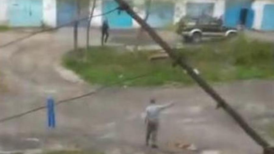 Чоловік отримав різні травми / скріншот з відео