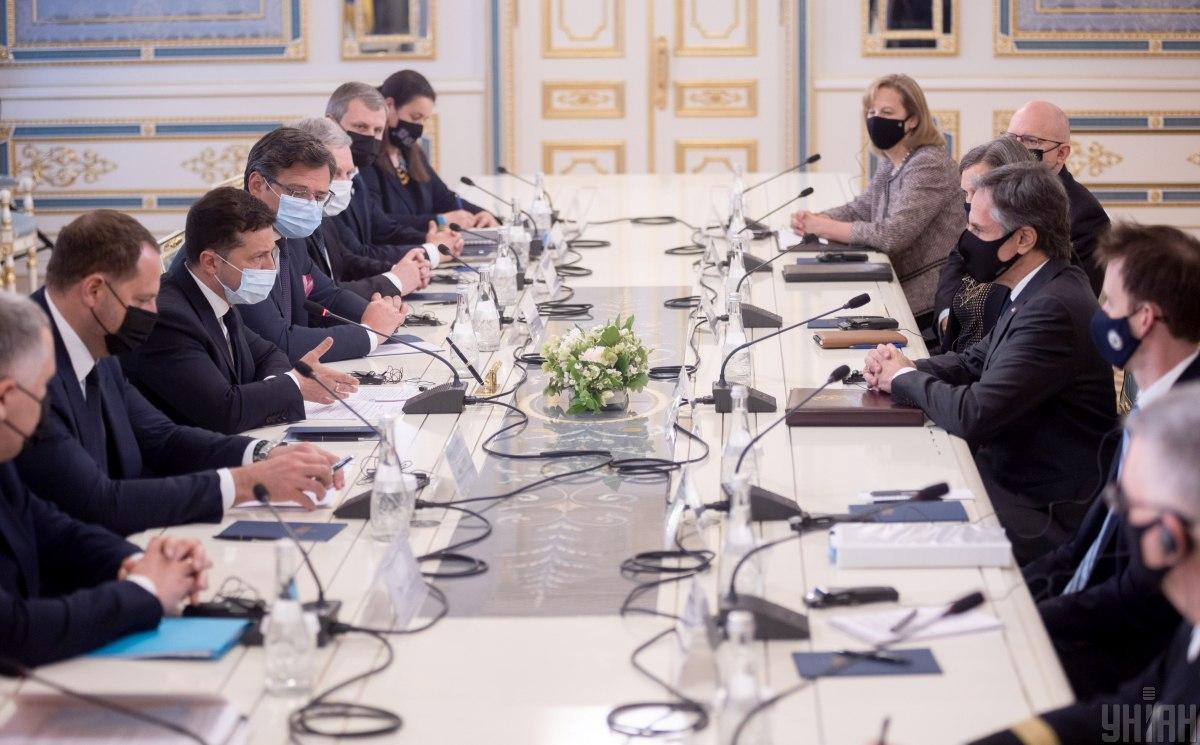 Блінкен підтвердивсильне партнерство між США і Україною / фото УНІАН