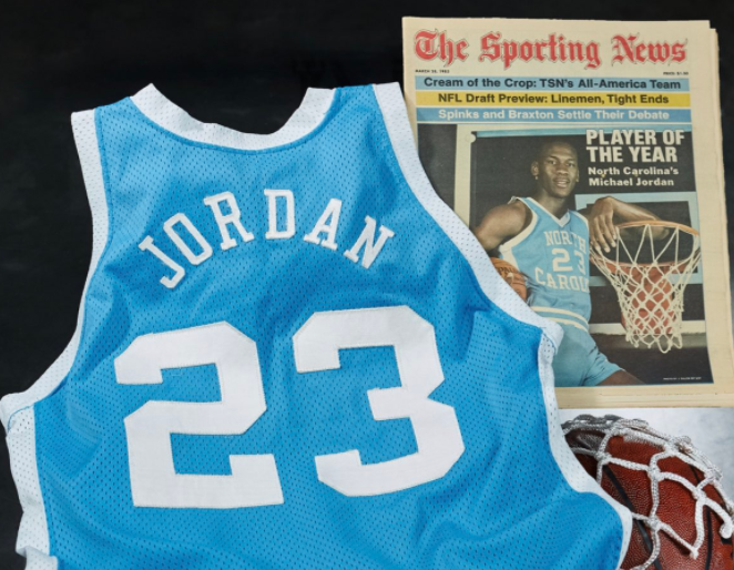 Джордан є шестиразовим чемпіоном НБА / фото Heritage Auctions Sports