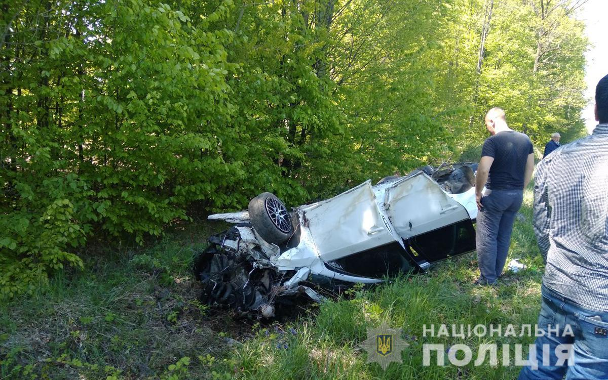 В результате ДТП погиб ребенок / Фото: ГУНП в Черновицкой области