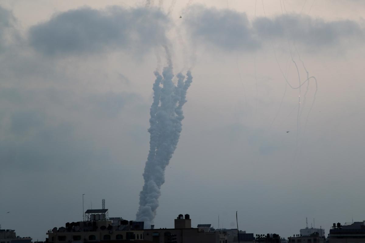 Ізраїль і сектор Газа провели ракетні обстріли \ фото REUTERS