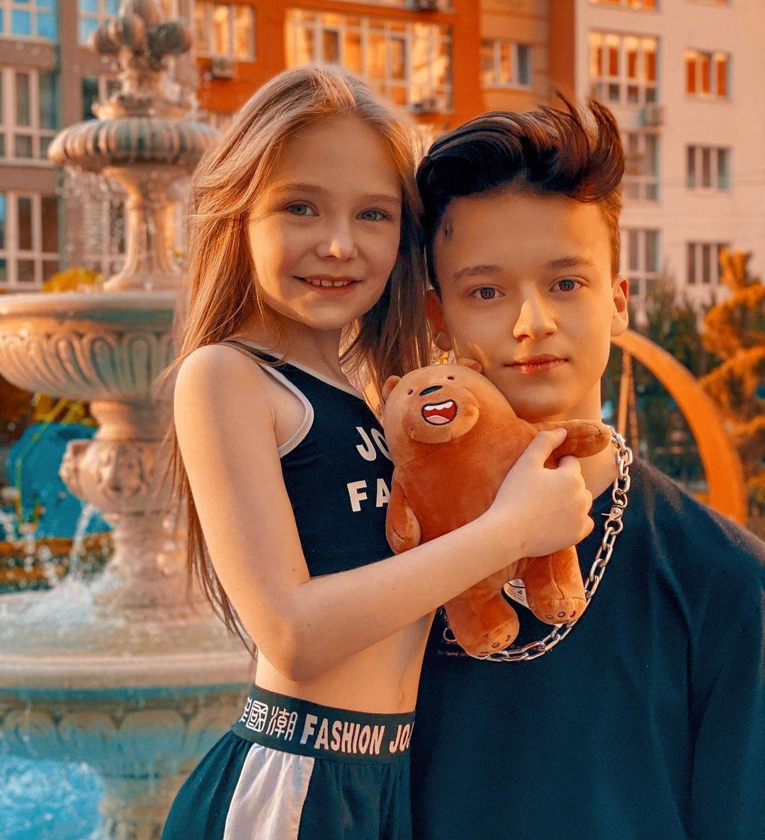 Мілана Маханець та Паша Пай / фото instagram.com/milamaxanets