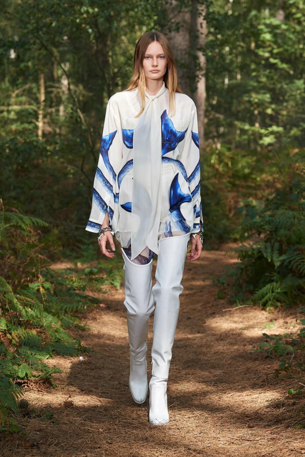 Модные принты весна-лето / Burberry