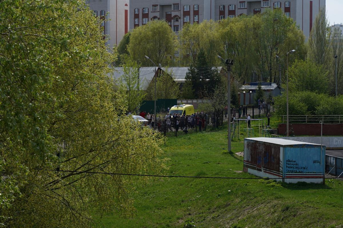 Подросток расстрелял школьников в России / фото REUTERS