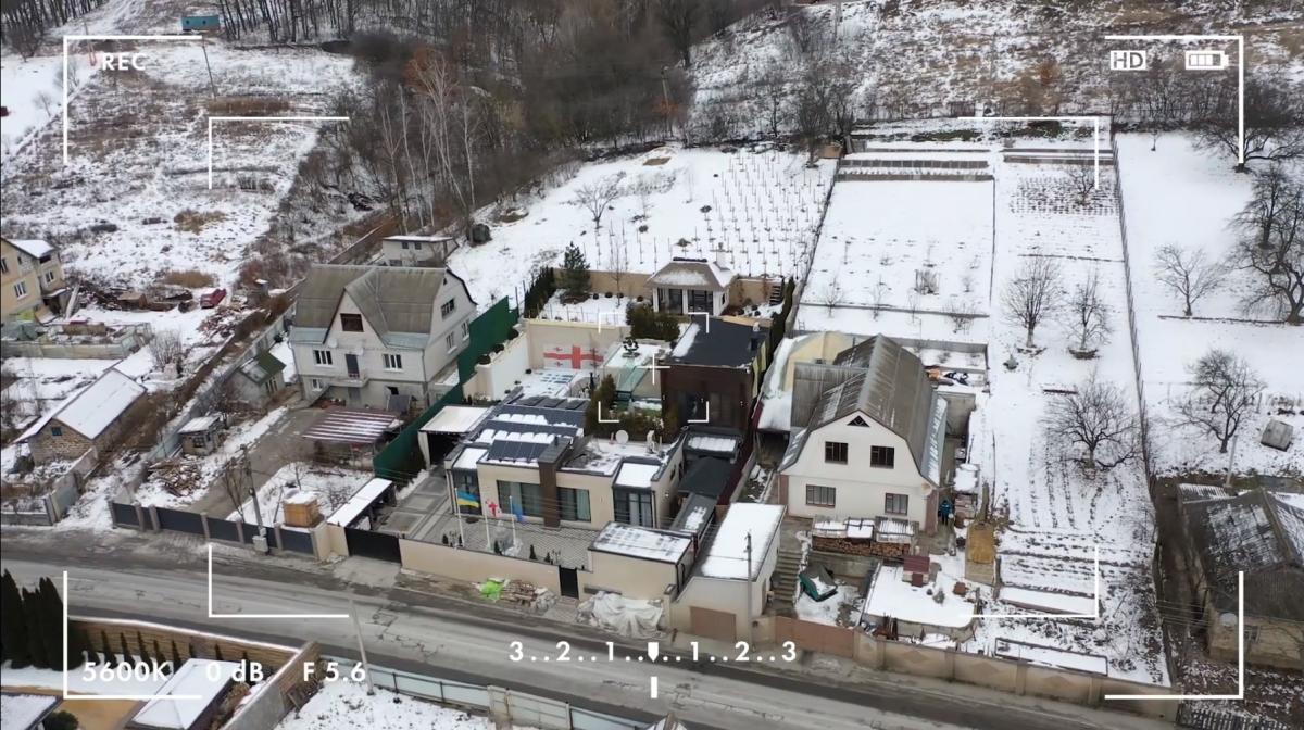 Поместье политика находится в селе Лесники/ скриншот из видео