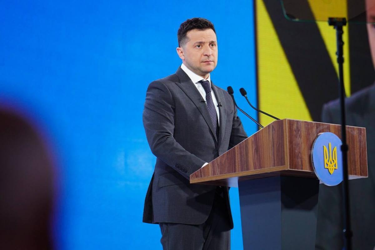 Зеленский прокомментировал вступление Украины в НАТО и ЕС / фото facebook.com/Forum.Ukraine30