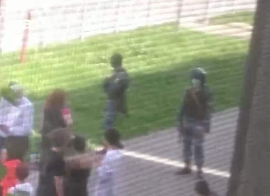 Ситуація в казанській школі після нападу стрільця-одинака / скріншот з відео, Mash