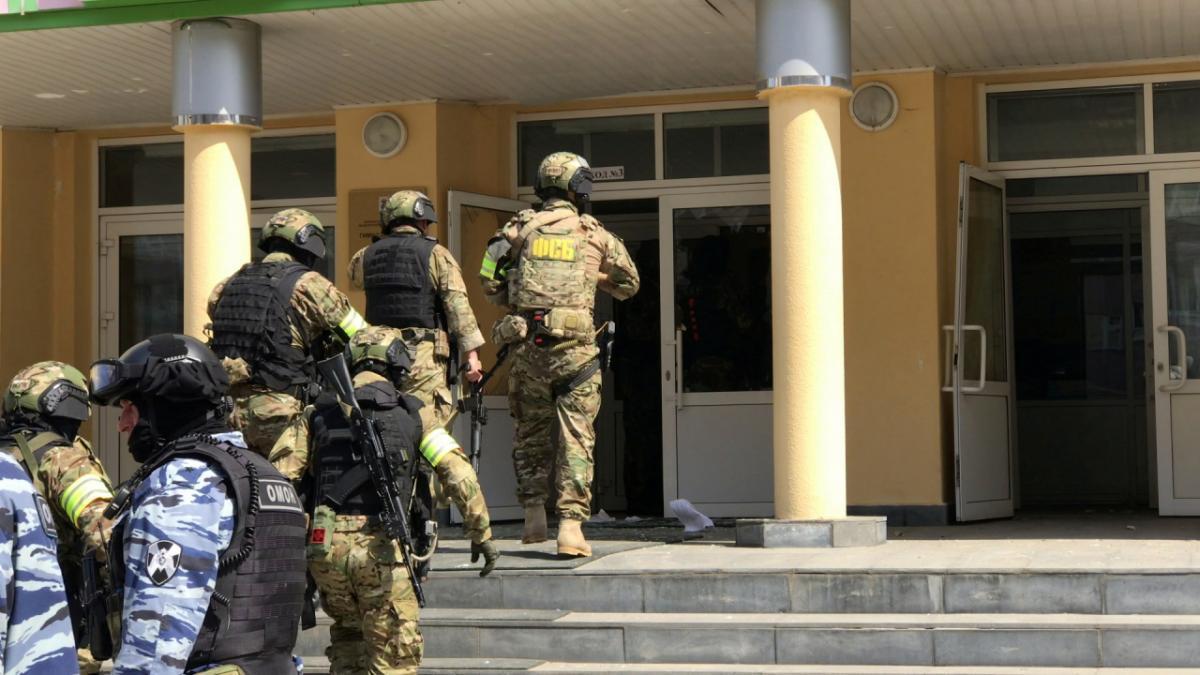 Стрельба в школе произошла 11 мая/ фото REUTERS