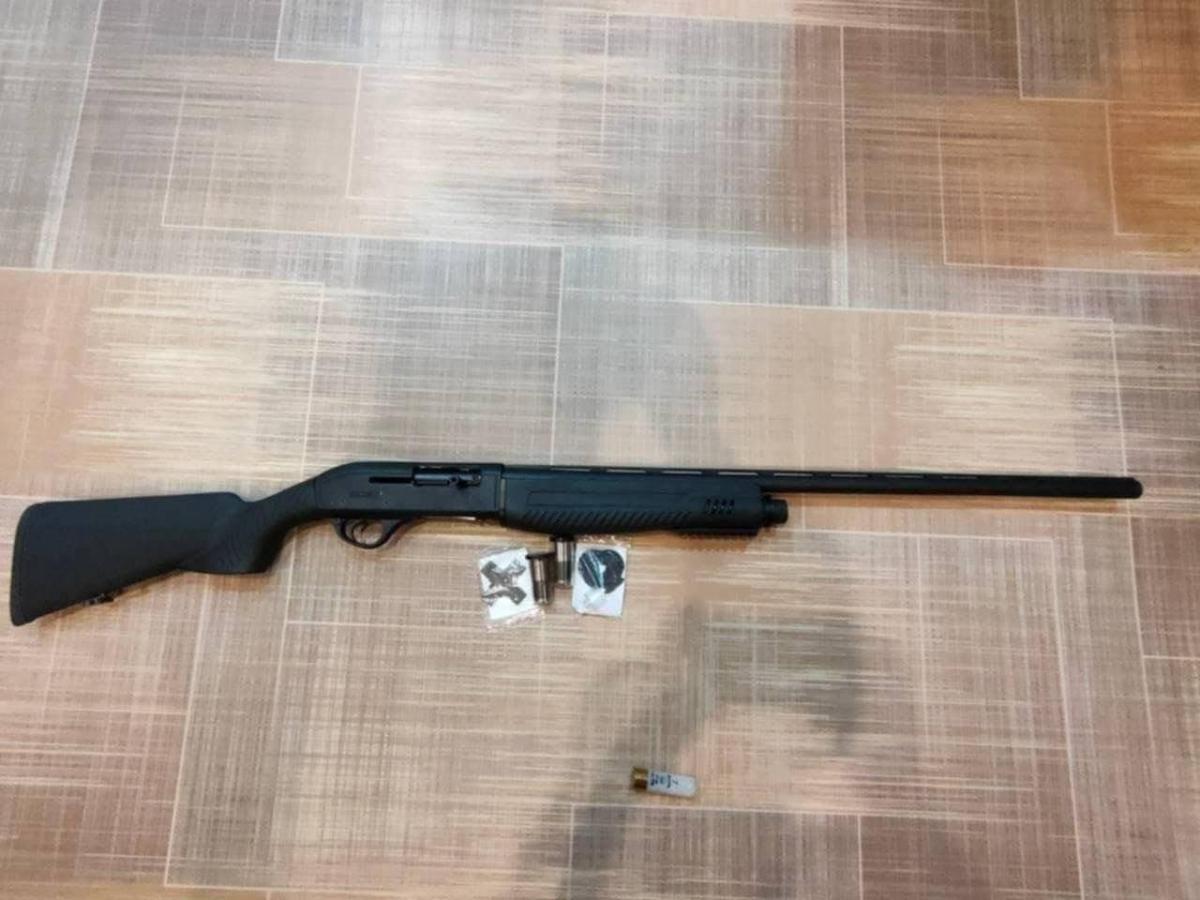 Ружье, из которого студент расстреливал беззащитных школьников / фото t.me/radiogovoritmsk