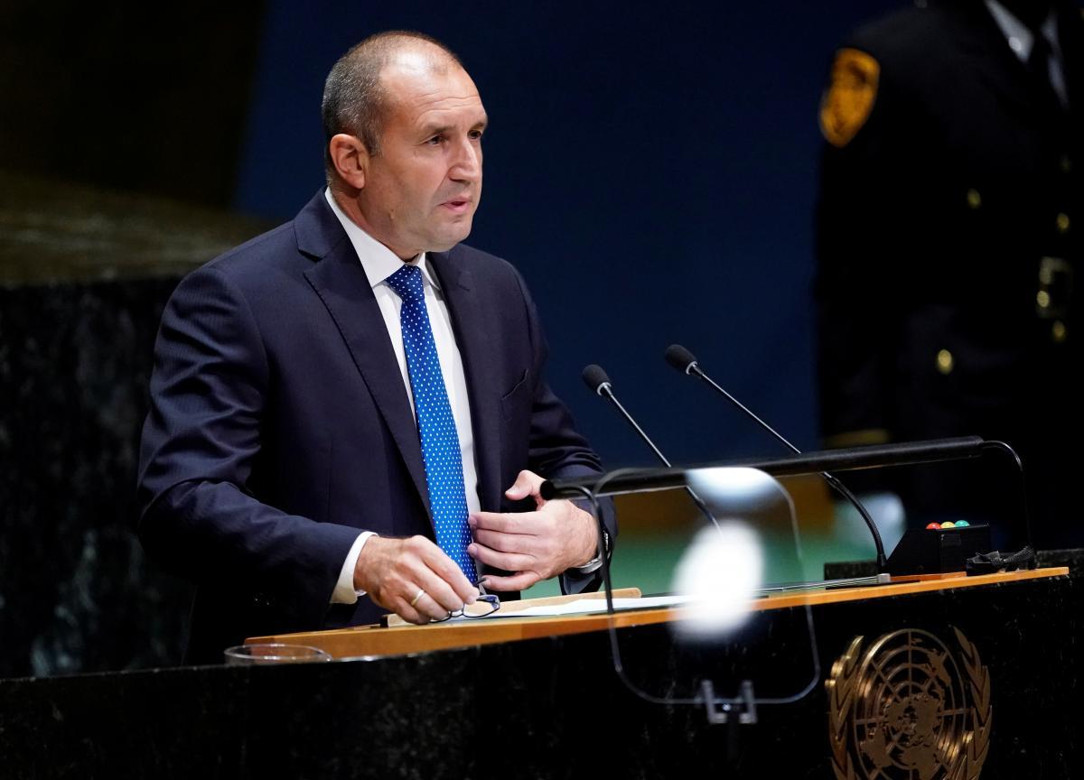 Румен Радев распустил недавно избранный парламент / фото REUTERS