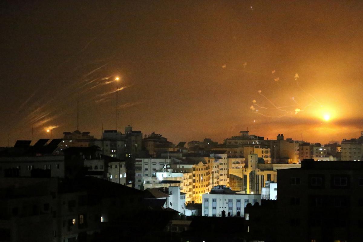 Обстріли Ізраїлю / фото REUTERS