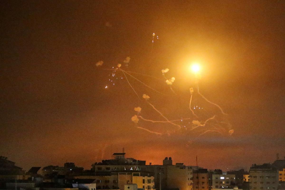 Ракетні удари між Ізраїлем і сектором Газа тривають з 10 травня / фото REUTERS