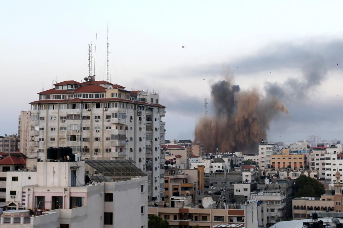 Ранее армия Израиля нанесла удар по дому главы группировки ХАМАС/ Иллюстрация REUTERS