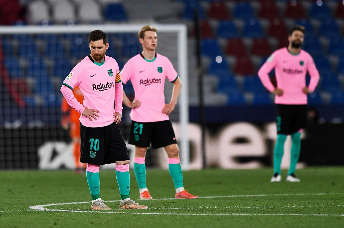 Гравці Барселони / фото REUTERS