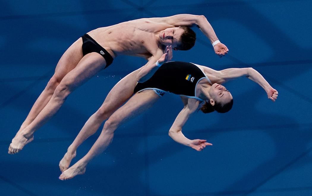 Олексій Середа і Ксенія Байло / фото df-ua.org