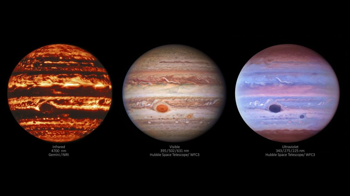 фото International Gemini Observatory / NOIRLab / NSF / AURA / NASA / ESA, M. H. Wong and I. de Pater (UC Berkeley)