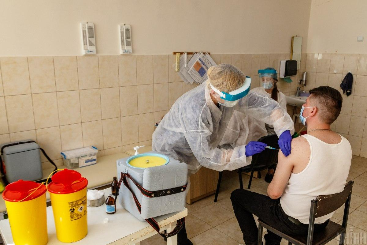 Over 23,600 Ukrainians vaccinated against COVID-19 in past day / Photo from UNIAN