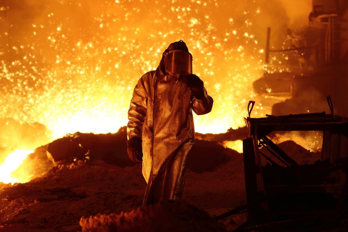 Внесок металургії у ВВП країни становить від 12 до 15% / фото metinvest