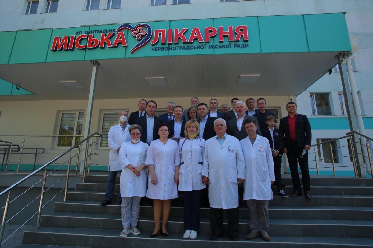 За програмою Зеленського лікарня у Червонограді отримала сучасне приймальне відділення / facebook.com/kozytskyy.maksym.official