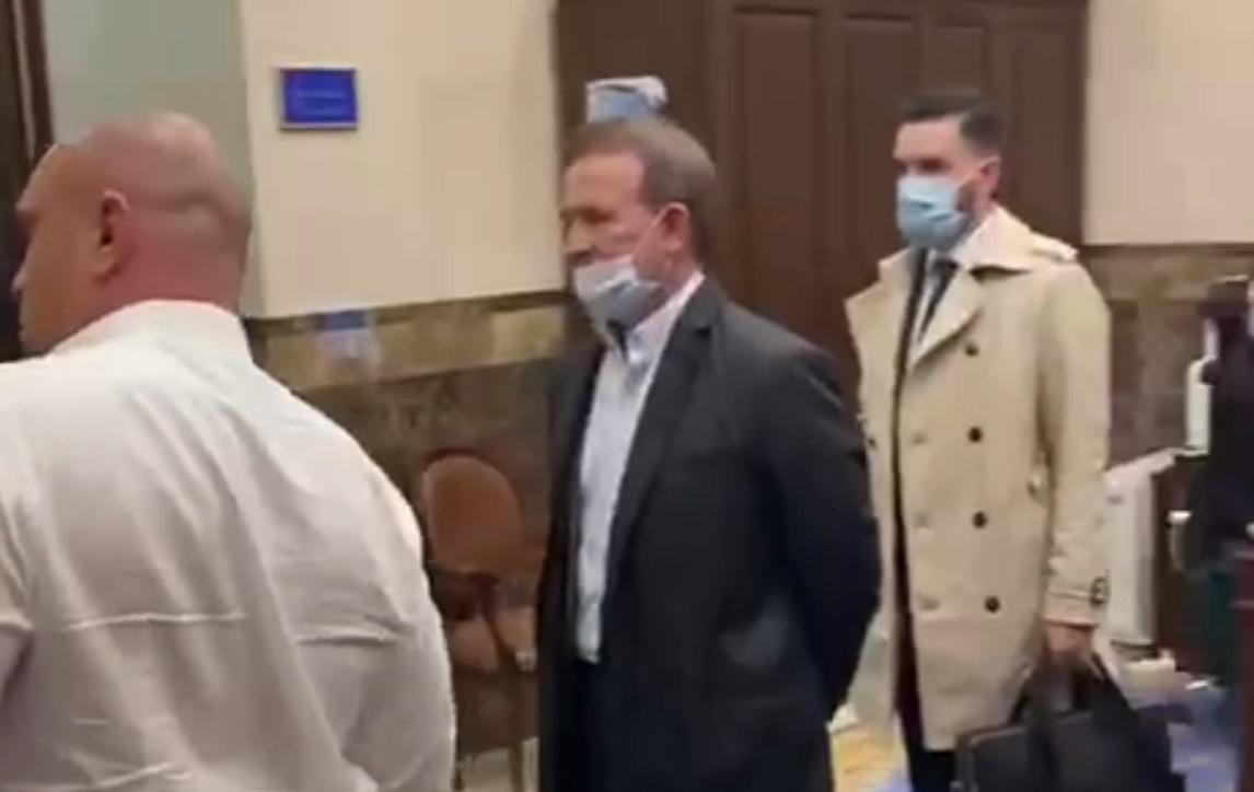 Медведчук в Офисе Генпрокурора / Скриншот с видео