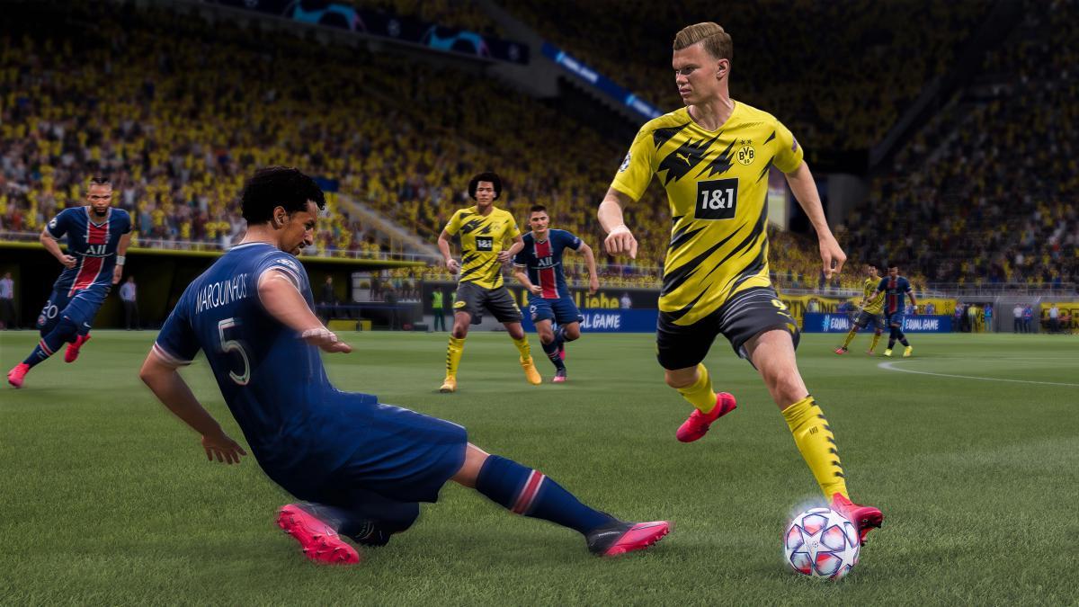 Кадр из игры FIFA / фото Electronic Arts
