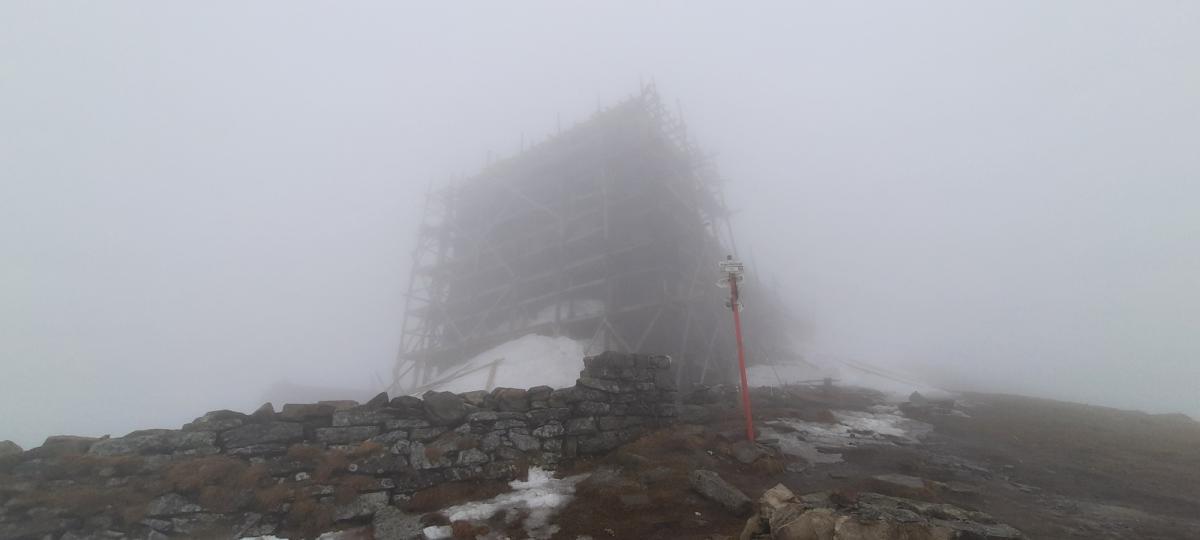 У горах трохи туманно / Фото facebook.com/chornogora.rescue112