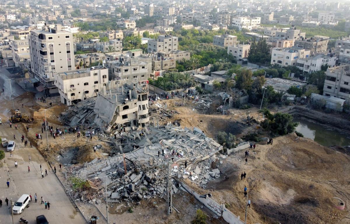 Ізраїльські військові готують наземну операцію у секторі Гази / фото REUTERS