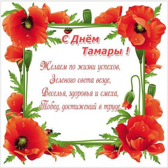 Привітання з іменинами Тамари / фото telegraf.com.ua