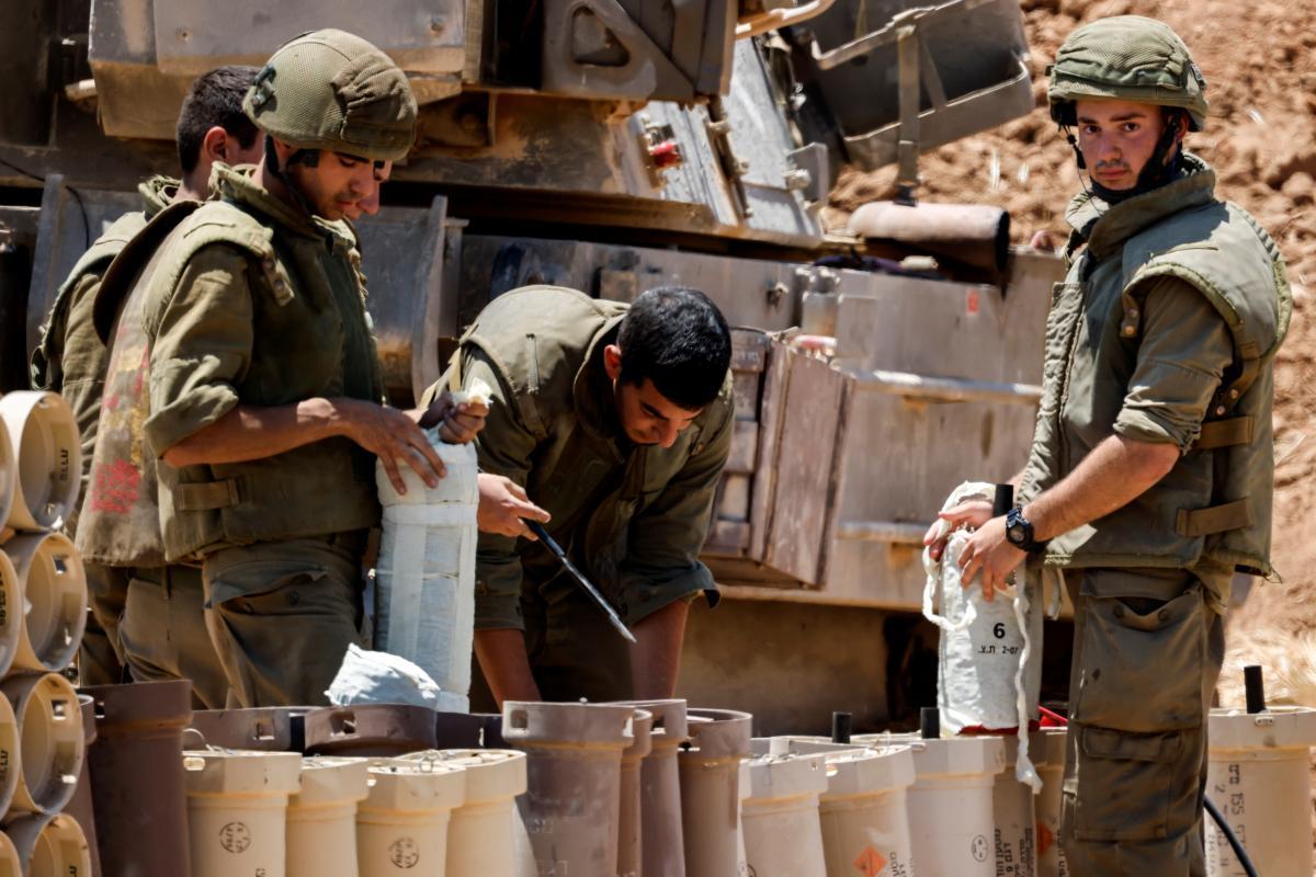 Израиль был готов начать наземное наступление против Сектора Газа / Фото: REUTERS