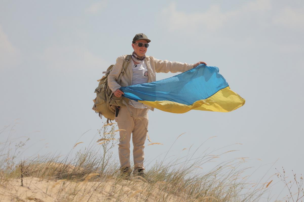 Дмитрий Комаров в новой экспедиции / фото пресс-службы«1+1»