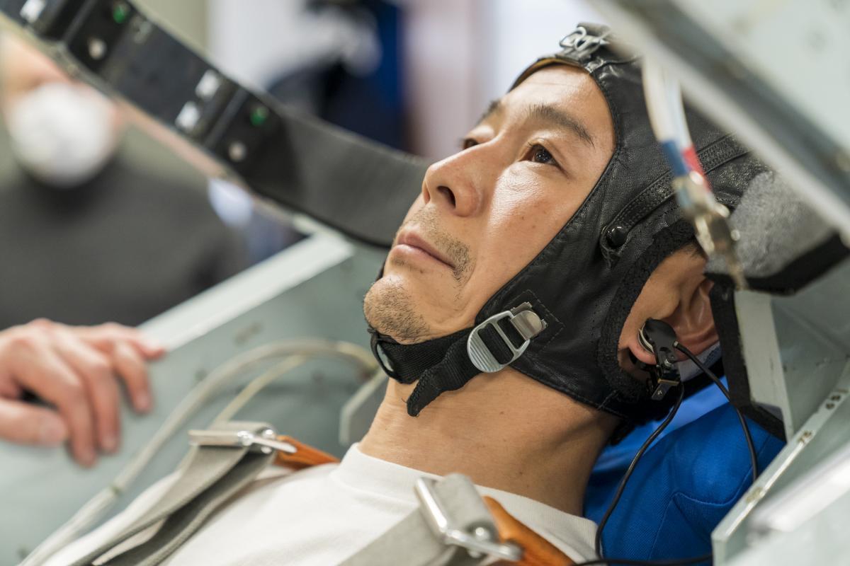 Юсаку Маэдзава готовится к полету на МКС /spaceadventures.com