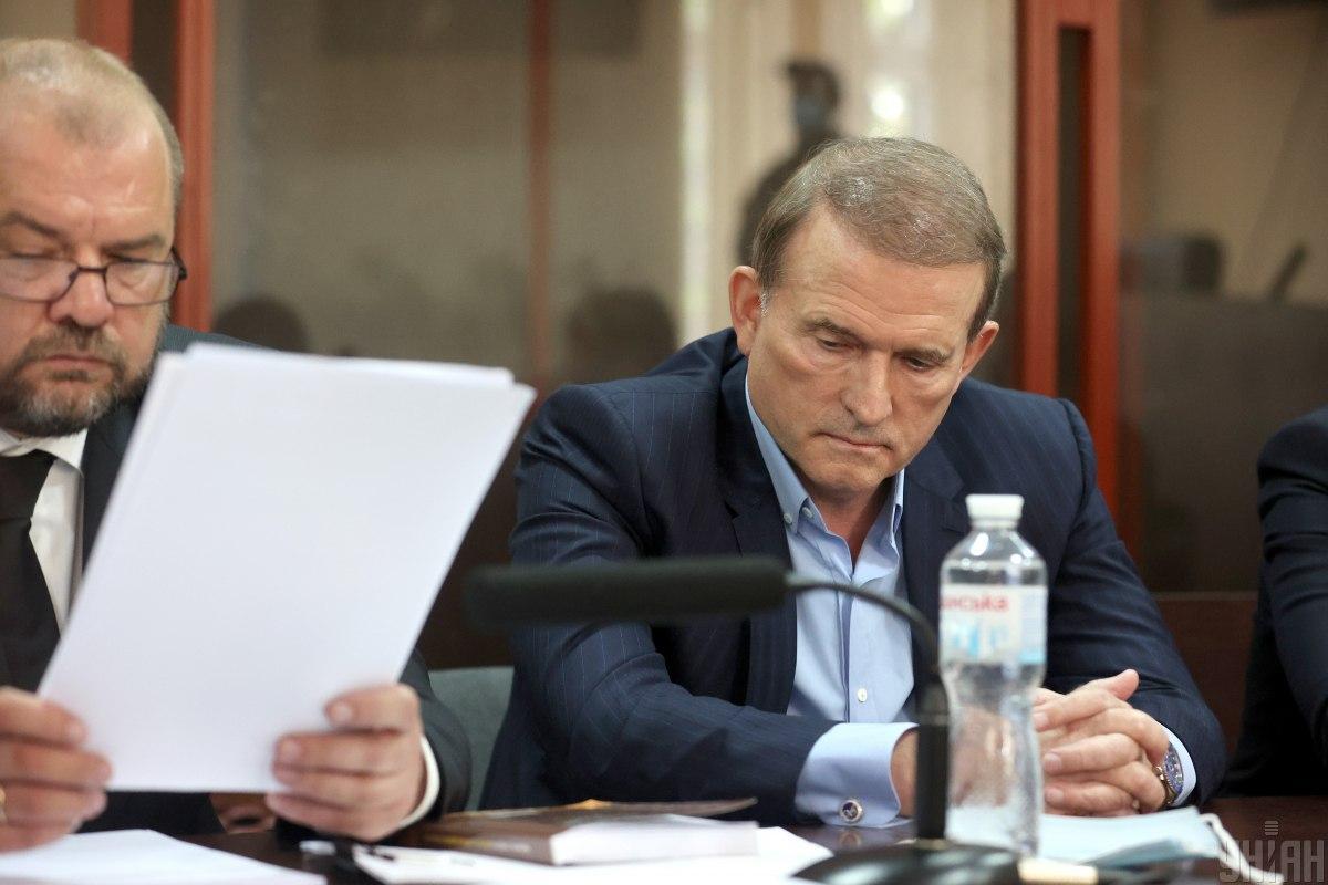 Новоеподозрение Медведчуку объявили сегодня вечером, 8 октября / Фото УНИАН