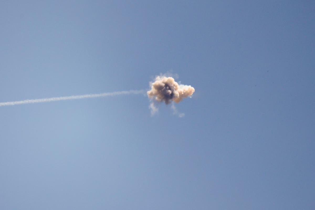 ХАМАС выпустил по Израилю 250 ракет/ фото REUTERS