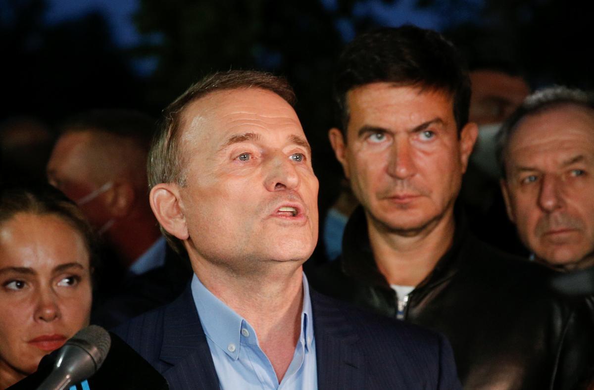 Виктору Медведчуку назначили круглосуточный домашний арест / фото REUTERS