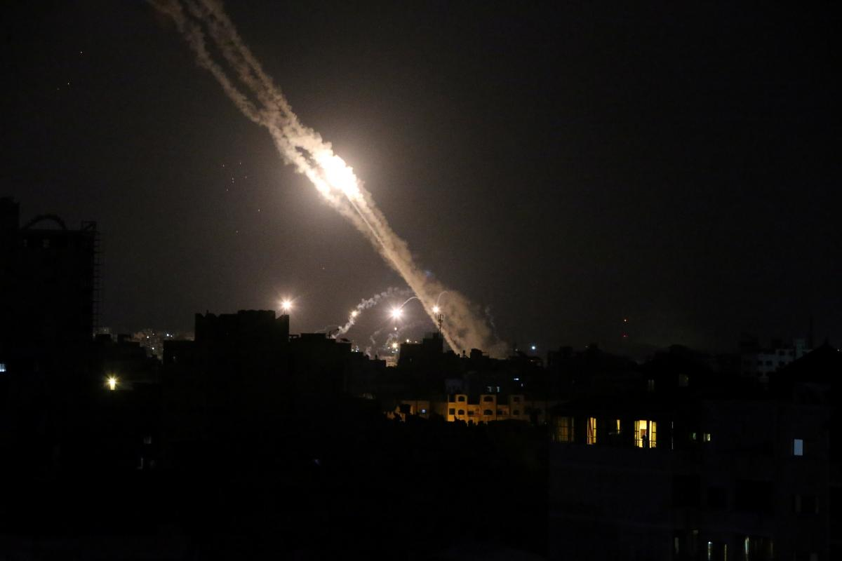 Израиль заявил о новых обстрелах / фото REUTERS