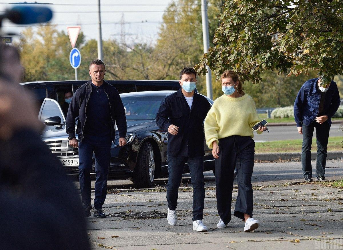 Зеленська пояснила, чому родина переїхала до держдачі / фото УНІАН, Максим Поліщук