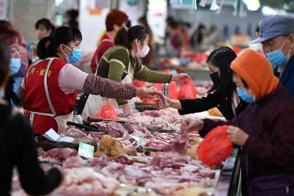 Ринок рибопродуктів в Ухані