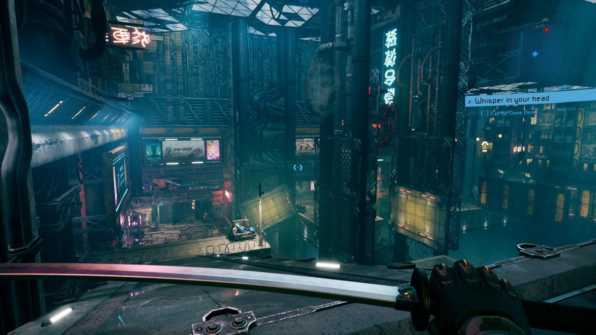 Ghostrunner / фото 505 Games