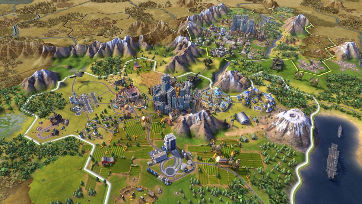 Sid Meier's Civilization VI / фото Firaxis Games