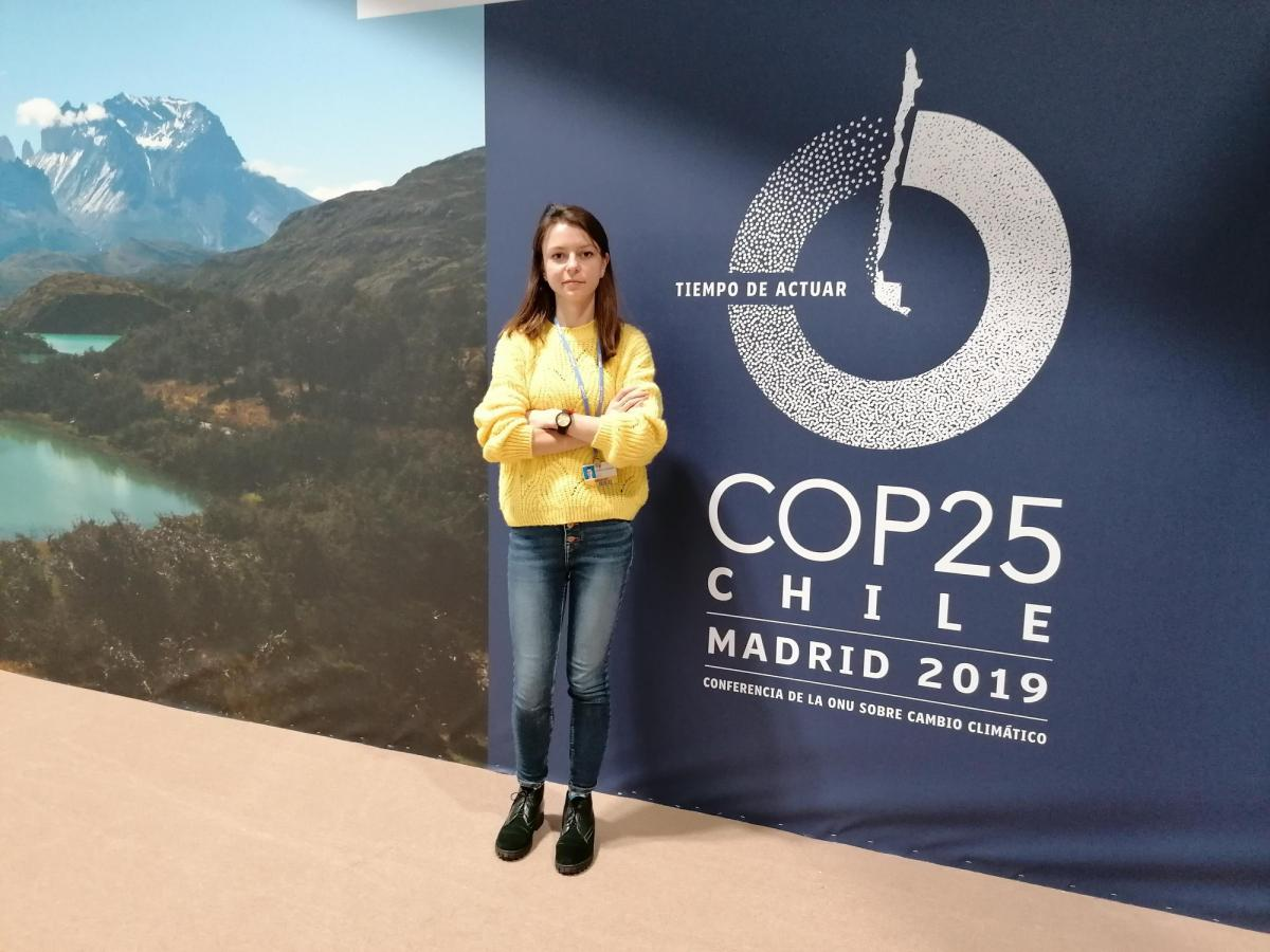 В Україні обговорення кліматичнихпроцесівтільки зароджується / фото Facebook / Євгенія Засядько
