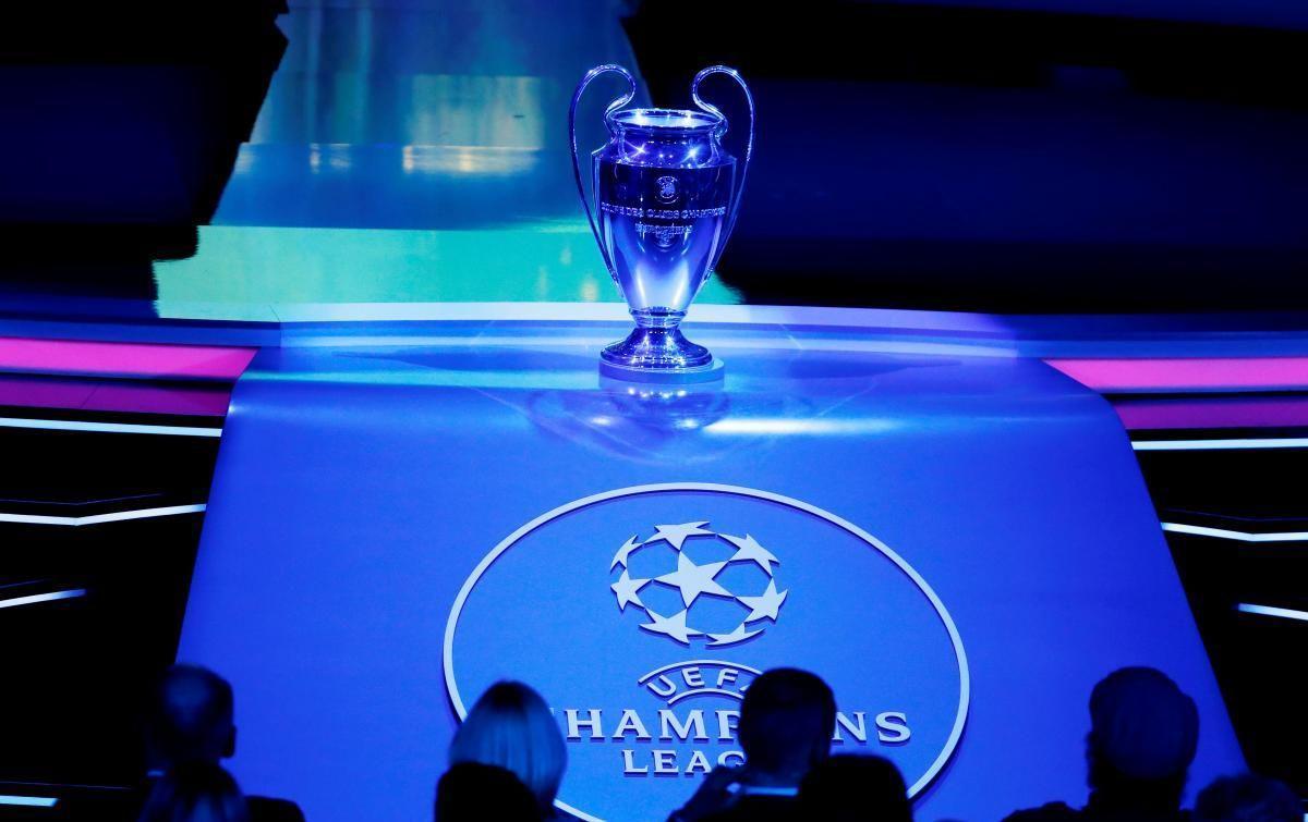 Трофей Лиги чемпионов / фото REUTERS