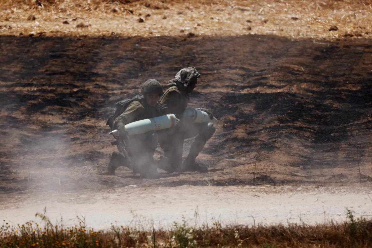 Ракетні удари між Ізраїлем та сектором Гази тривають з 10 травня / Фото: REUTERS