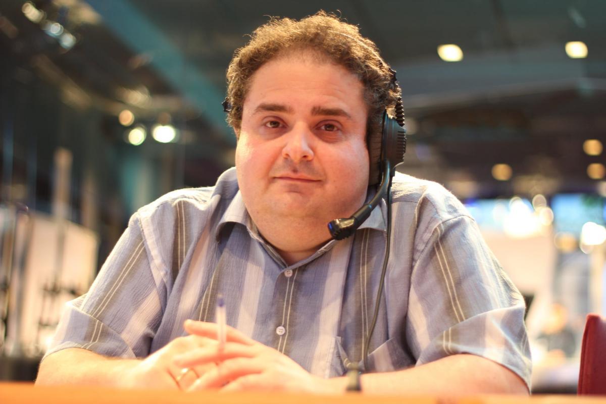 Израильский журналист и радиоведущий Цви Зильбер / фото facebook.com/george.zilber