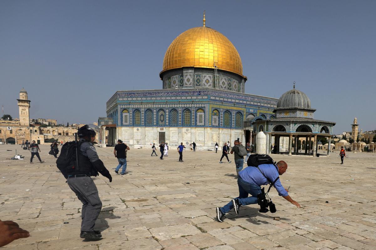 Мечеть Аль-Акса является экстерриториальной частью / фото REUTERS