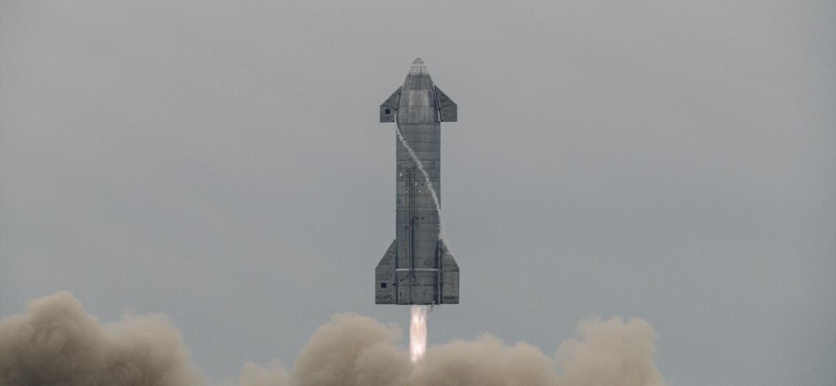 Орбітальні випробування дозволять уточнити поведінку ракети під час входу в атмосферу на великій швидкості / фото SpaceX