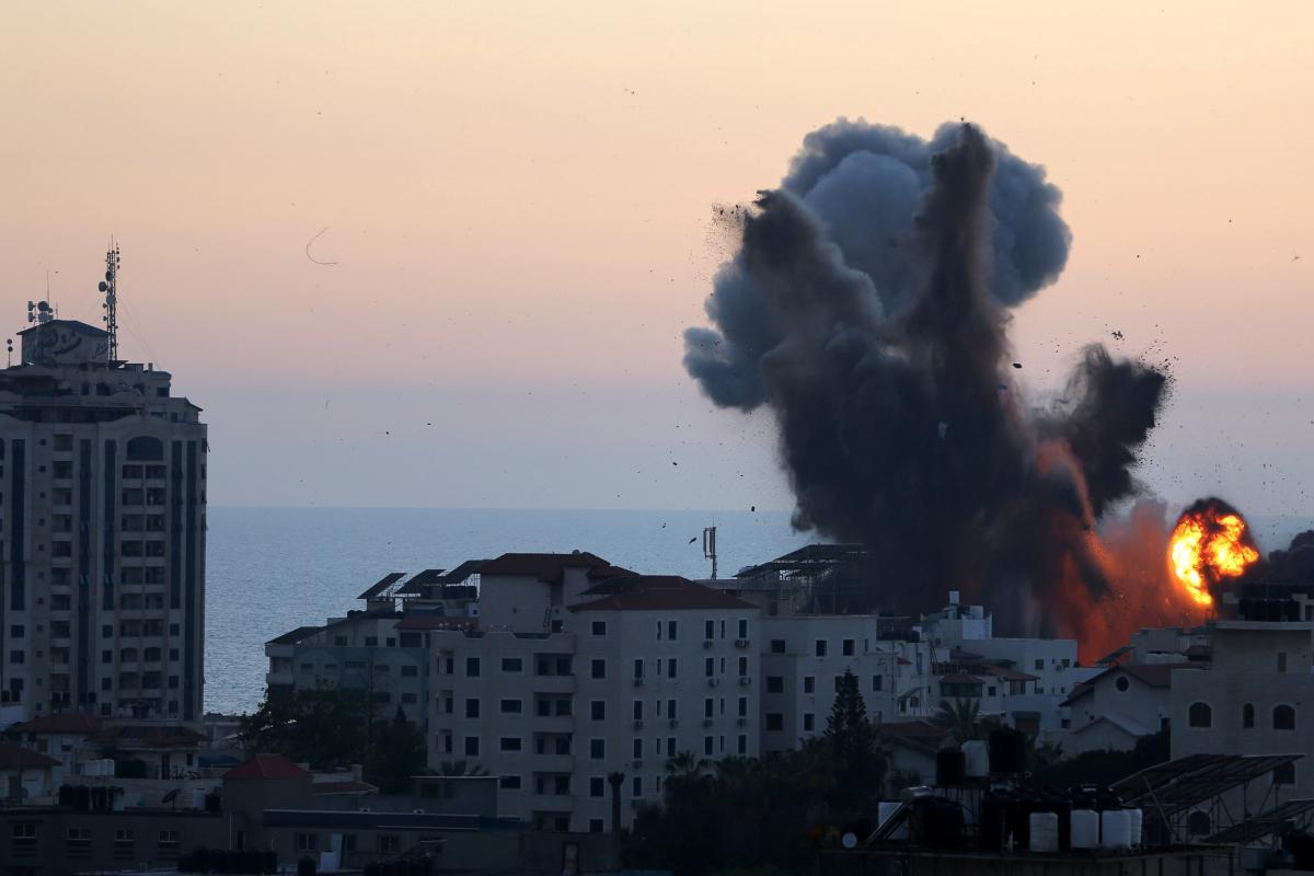 Ракетні удари між Ізраїлем та сектором Гази тривають з 10 травня / REUTERS